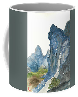 Blue Mountain Morning Coffee Mug