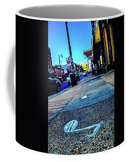 Blue Notes On Beale Coffee Mug