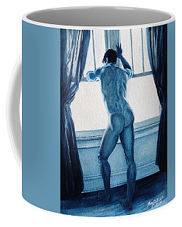Blue Nude Coffee Mug