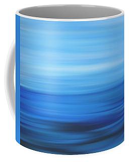 Blue Ocean Abstract Coffee Mug by Dan Sproul