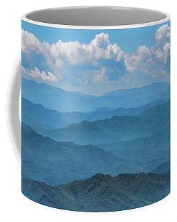 Blue On Blue - Great Smoky Mountains Coffee Mug