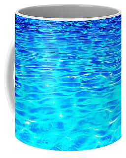 Blue Or Green Coffee Mug by Ramona Matei