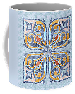 Blue Oriental Tile 04 Coffee Mug