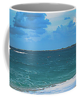 Blue Paradise, Scenic Ocean View From The Bahamas Coffee Mug