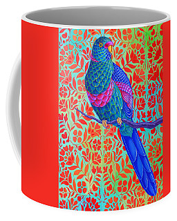 Blue Parrot Coffee Mug
