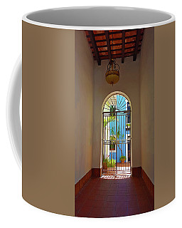 Blue Patio Coffee Mug