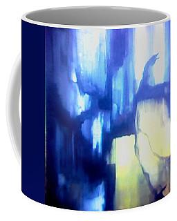 Blue Patterns Coffee Mug