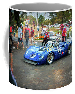 Blue Penske Lola T70 Coffee Mug