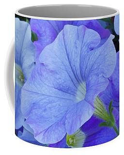 Blue Petunia Blossom Coffee Mug