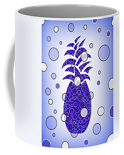 Blue Pineapple Coffee Mug
