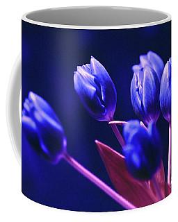 Blue Poetry Coffee Mug