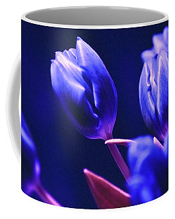 Blue Poetry Coffee Mug