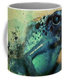 Blue Poisonous Frog Coffee Mug