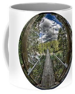 Blue Pools Bridge Coffee Mug