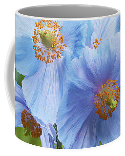 Blue Poppy Coffee Mug