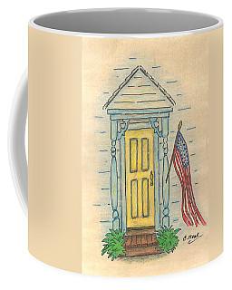 Blue Porch Coffee Mug