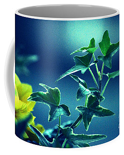 Coffee Mug featuring the photograph Blue Power  by Susanne Van Hulst