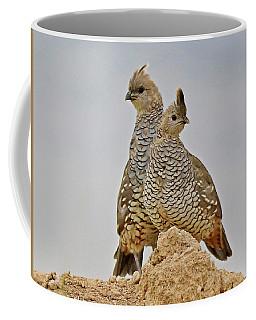 Blue Quail Coffee Mug