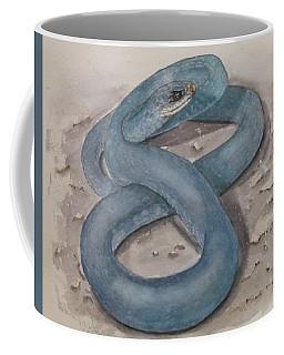 Blue Racer Snake Coffee Mug
