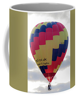 Blue, Red And Yellow Hot Air Balloon Coffee Mug