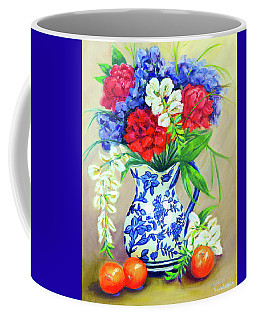 Blue Reflections Coffee Mug