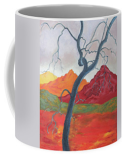 Blue Retama Coffee Mug