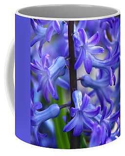 Coffee Mug featuring the photograph Blue Rhapsody by Byron Varvarigos