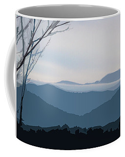 Blue Ridge Above The Clouds Coffee Mug