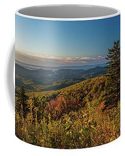 Blue Ridge Mountain Autumn Vista Coffee Mug