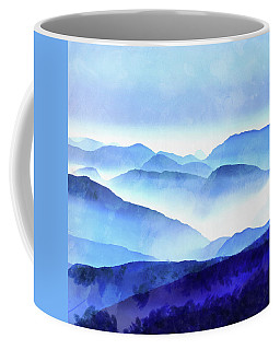 Blue Ridge Mountains Coffee Mug