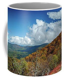 Blue Ridge Mountains In The Fall 1 Coffee Mug
