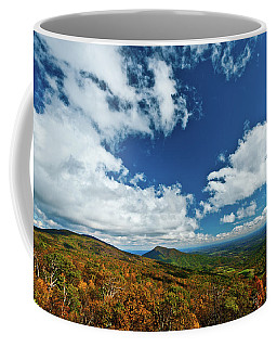 Blue Ridge Mountains In The Fall 2 Coffee Mug