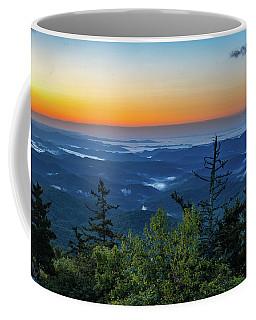 Blue Ridge Mountains Sunrise Coffee Mug