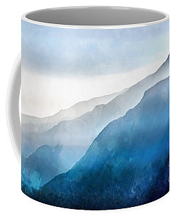 Coffee Mug featuring the painting Blue Ridge Mountians by Edward Fielding
