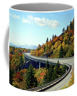 Coffee Mug featuring the photograph Blue Ridge Parkway Viaduct by Meta Gatschenberger