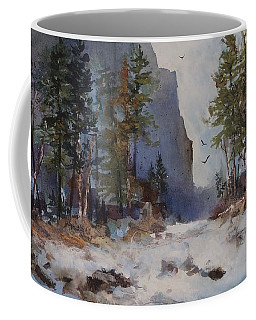 Blue Ridge Pass Coffee Mug by Helen Harris