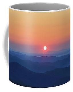 Blue Ridge Sunrise Coffee Mug by Dale R Carlson
