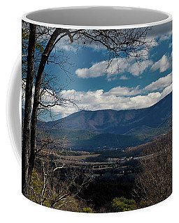 Coffee Mug featuring the photograph Blue Ridge Thornton Gap by Lara Ellis