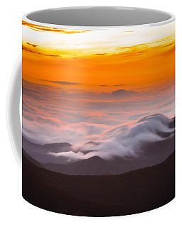 Blue Ridge Valley Of Clouds Coffee Mug