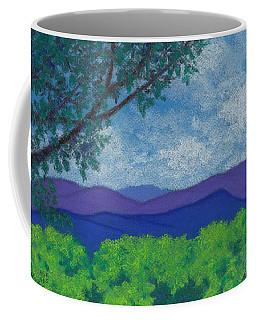 Blue Ridges 4 Coffee Mug