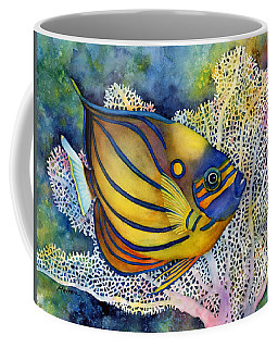 Blue Ring Angelfish Coffee Mug