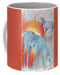 Blue Roans Coffee Mug