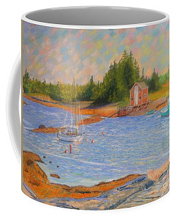 Blue Rocks ,nova Scotia Coffee Mug