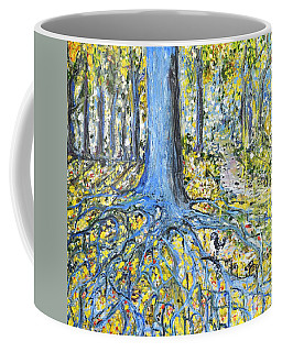 Blue Roots Coffee Mug