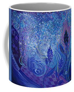 Blue Rosebud Ballroom Coffee Mug