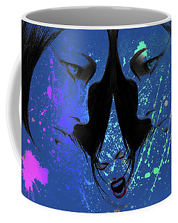 Blue Screamer Coffee Mug