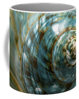 Blue Seashell Coffee Mug