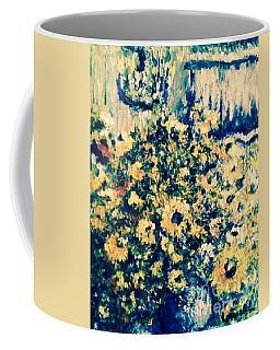 Coffee Mug featuring the photograph Blue Septembre by Laurie L