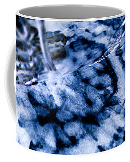 Blue Shadow Wen Coffee Mug by Samantha Thome