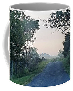 Blue Shadows Coffee Mug
